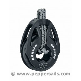 Poulie Carbo T2 lashing 57 mm