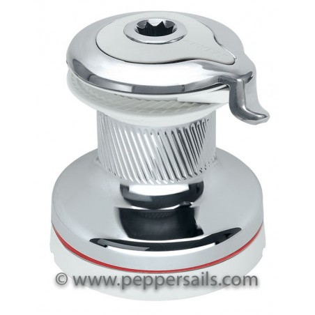 70.2 STCW - Winch Radial Self-Tailing 70.2 Chrome White